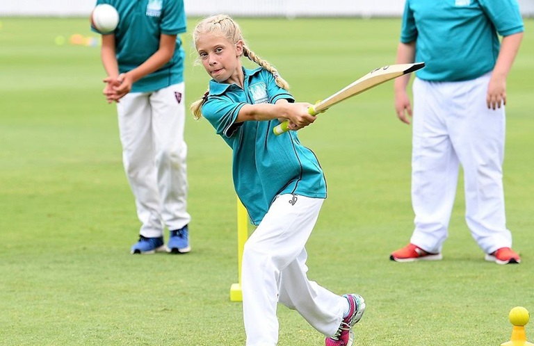 Cricket for Girls on the GC.