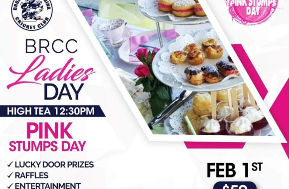 BRCC – Pink Stumps day – Ladies Day